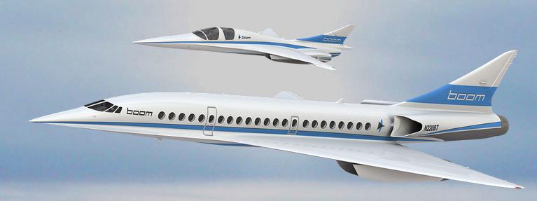 L'avion supersonique, petit frère du concorde ?