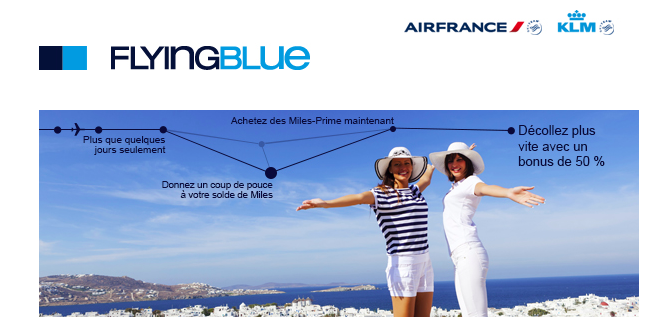 Le point sur le service Flying Blue de Air France