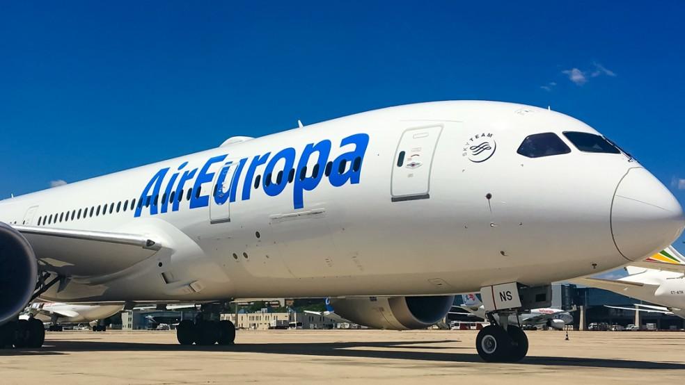 réclamation Air Europa
