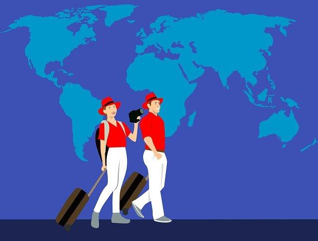 voyage à travers le monde