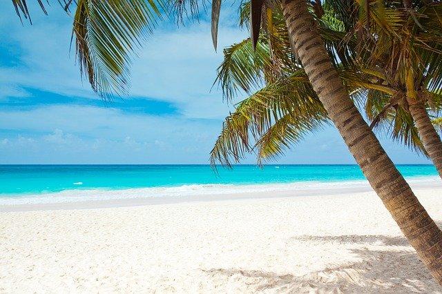 plage dans les caraïbes