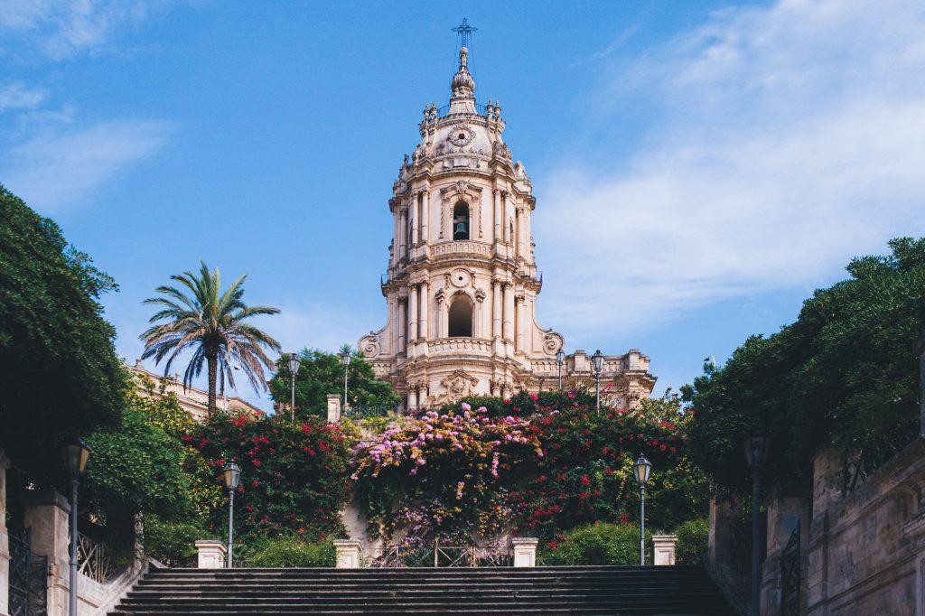 cathédrale san giorgio à Modica