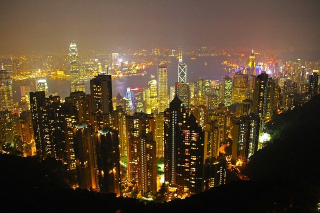 la ville de hong-kong