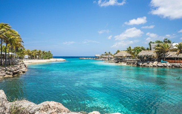 lagon à Curaçao