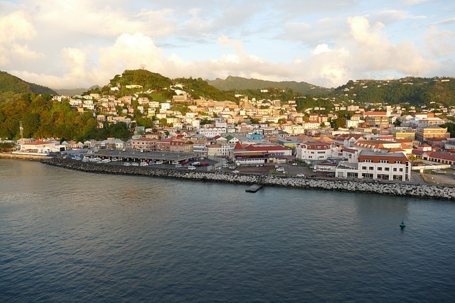 vue sur une ville de Grenade