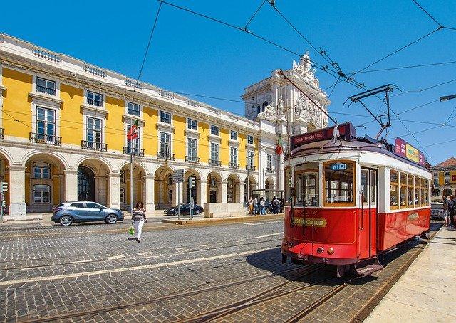 tramway au Portugal