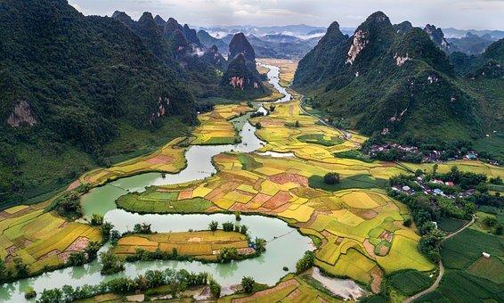 paysage vietnam