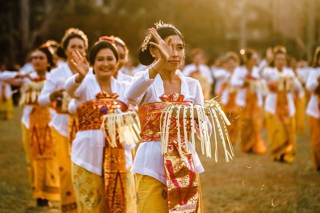 paysans à Bali