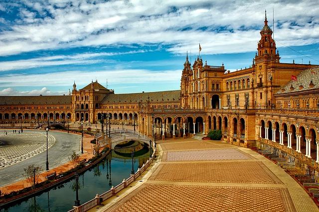 Place de l'Espagne à Séville