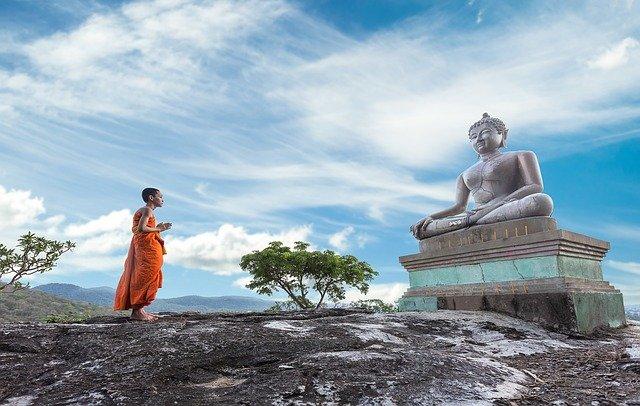 Moine Thailande